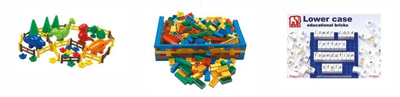 Coko Building Bricks and Learning Bricks