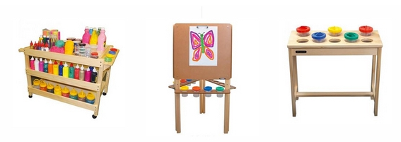Easels, Artroom Furniture and Storage