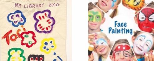 Fabric Paints and Face Paints