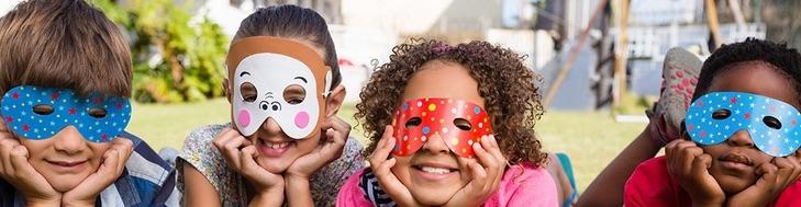 Masks, Glasses and Fans