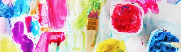 Paints, Dyes, Smocks and Cleanup