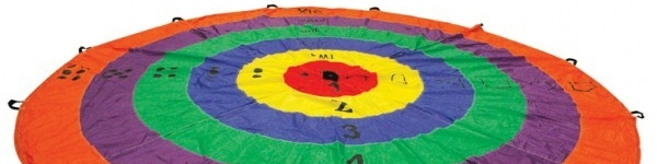 Parachutes and Targets for Kids