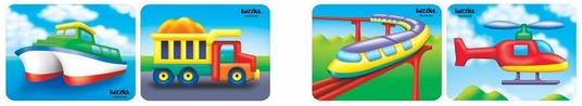 Transport, Vehicles & Road Safety Puzzles