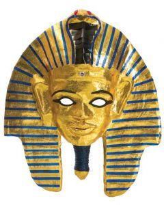 Papier Mache King Tut Mask