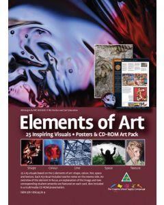 Elements of Art Poster Pack 25pcs