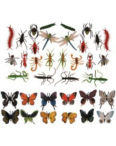 Butterflies & Assorted Insects 36pcs