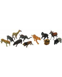 African & Rainforest Animal Set 11pcs