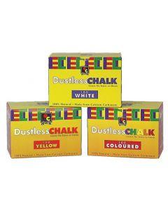 Chalk Anti-Dust Yellow 100pcs