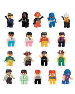 Coko Nursery Bricks Occupational Figures 18pcs