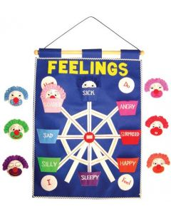 Feelings Fabric Wall Chart