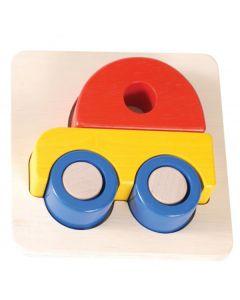 Car Tray Puzzle 6pcs