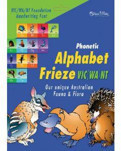 Phonetic Alphabet Frieze Handwriting Font VIC/WA/NT