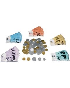 Coins and Notes 104pcs