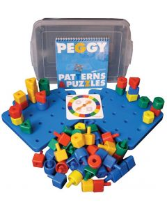 Peggy Shape & Count Pegboard Class Set