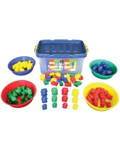 Counting Bears 100pcs and 4 Bowls