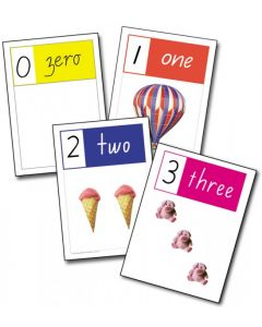 A4 Number Cards 0-10 Victoria