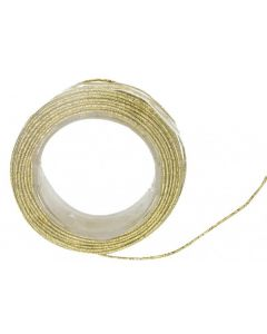Metallic Wire Cord Gold 25m