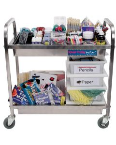 Stainless Steel School Trolley
