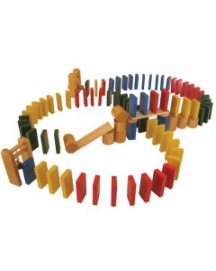Cascading Dominoes Game 96pcs