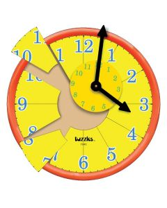 Tuzzle Time Raised Clock Puzzle 13pcs