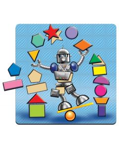 Robot Shapes Raised Puzzle 25pcs