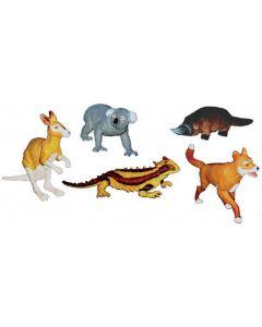 Aussie Animals Medium  5pcs
