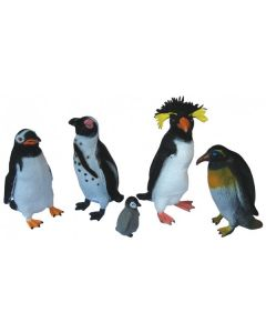 Penguins Medium 5pcs