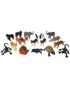 Endangered Animals Small 18pcs
