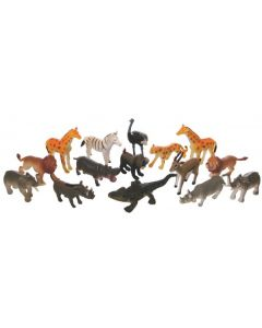 African Animals Small 15pcs
