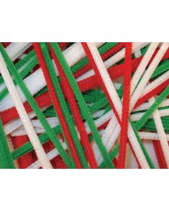 Christmas Chenille Stems 100pcs