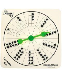 Spinners Dot 1-10 10pcs