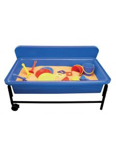 Sand & Water Playtray Frame & Lid - Blue 40cm H