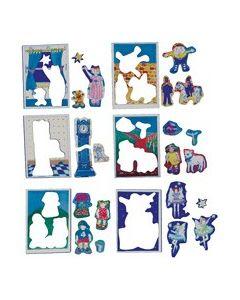 Magnetic Nursery Rhymes Puzzle Set of 6