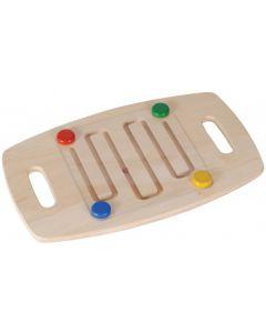 Zig-Zag Balance Board