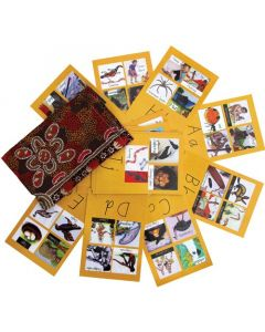 Indigenous Alphabet Flash Cards