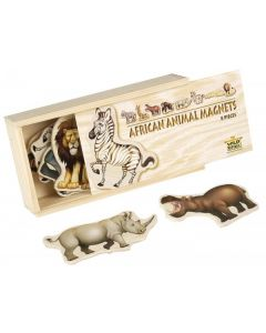 Magnetic African Animals 8pcs