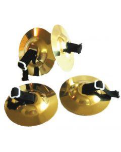 Finger Cymbals Brass 4pcs