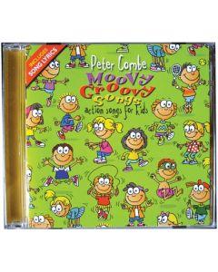 Moovy Groovy Songs CD Peter Combe