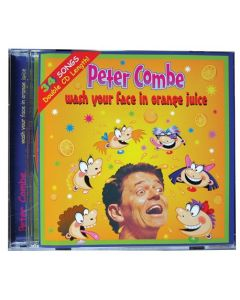 Wash Your Face In Orange Juice CD Peter Combe
