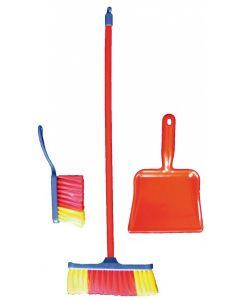 Dustpan and Broom Set 3pcs
