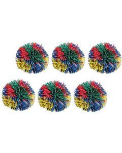 Pom Pom Balls 7.5cm x 6pcs