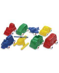 Mini Mobil Flexi Vehicle Set 8pcs