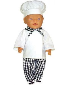 Doll's Chef Clothes