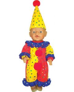 Doll's Clown Outfit