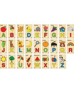 Alphabet Puzzle in Box 52pcs