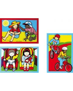 Safety Puzzle Set of 3