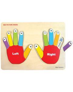 Number Hands Puzzle 12pcs