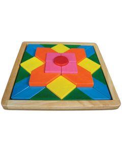 Mosaic Raised Puzzle 29pcs