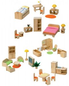 Contemporary Doll's House Furniture - Set A