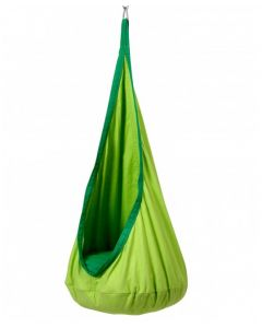 Indoor Sensory Pod Swing Green